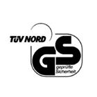 TÜV Nord GS: Zeichengenehmigungsausweise über die Erfüllung der im Gesetz über technische Arbeitsmittel gestellten Anforderungen