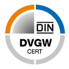 DVGW-Gas: Zert über DIN-DVGW Prüfzeichen in Gasanlagen